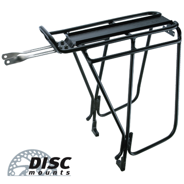 Super Tourist DX Tubular Rack w/disc Mounts (bez pružiny)